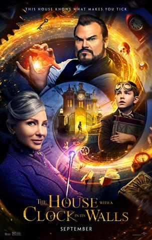The House with the Clock in its Walls movie poster