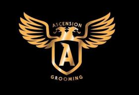 Ascension Barber Shop Logo