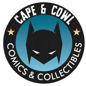 Cape and Cowl Comics and Collectibles Logo