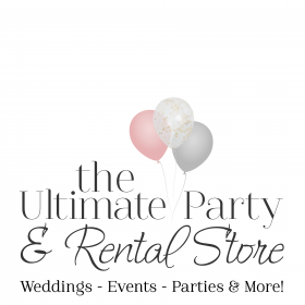 Ultimate Party and Rental Store Logo
