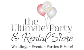 The Ultimate Party and Rental Store logo
