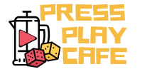 Press Play Cafe logo