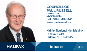 Councillor Paul Russell card